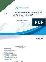 Apresentacao Das Minutas Do RBAC 140 141 e 147