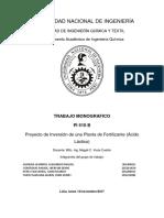 Proyecto de Inversión Economia Final