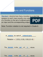 relations and functions 1