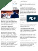 (Ficha) - 9 Consejos Para Una Buena Presentación en Power Point