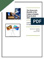 The Democratic Republic of the Congo vs Uganda ICGJ 31