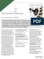 Autodesk Inventor 2014 Certification Roadmap Web