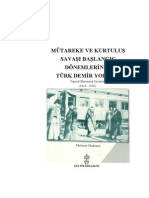 Mehmet Özdemir - Kurtuluş Savaşında Türk Demiryolları