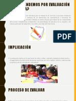 Qué Entendemos Por Evaluación Educativa