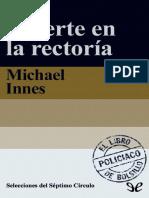 Muerte en La Rectoria - Michael Innes