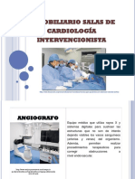 Inmobiliario Salas de Cardiología Intervencionista