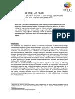Estudio - Microcogeneración Una Solución Costoefectiva, 2012
