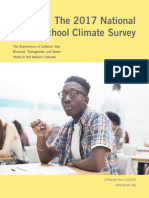 GLSEN 2017 National School Climate Survey