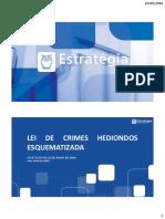 X. Lei Crimes Hediondos Esquematizada 2018
