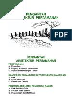 1-ArsitekTaman-Pendahuluan.ppt