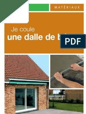 Dalle De Béton Matériau Composite Béton