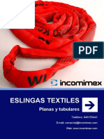 SDshkt9 Eslingas Textiles