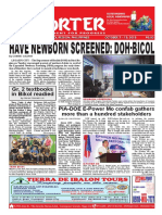Bikol Reporter October 7 - 13, 2018 Issue