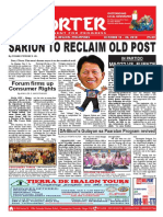 Bikol Reporter October 14 - 20, 2018 Issue