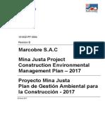 101632-PP-0004 Construction Environmental Management Plan - 2017