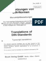 Standard DIN1025