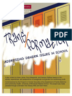 Trans Formations Addressing Gender Issues in School Play Script