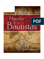 Introduccion y Primer Capitulo de Historia de Los Bautistas