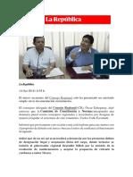 La República Dnuncia Penal Contra Accesitarios