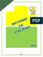 Informe Calidad Abril