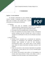 Resumo Do Livro Introdução a Engenharia Ambiental