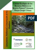Calidad Ecológica Recursos Hídricos Jungla Urbana 2017 ARNPG
