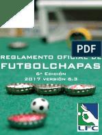 Reglamento Futbol Chapas