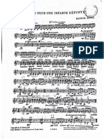 Ravel Pavane - violin 2