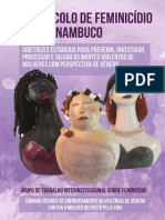 Protocolo Feminicídio