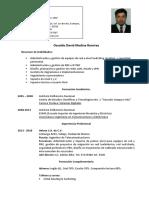 CV Medina Ramirez O. David
