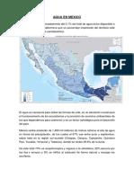 Agua en Mexico