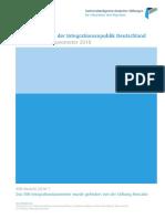 Integrationsbarometer 2018