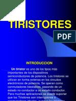 Tiristores(Electronica de Potencia )