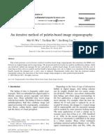 An Iterative Method of Palette-based Image Steganography