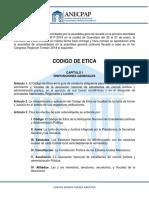 Codigo de Etica ANECPAP