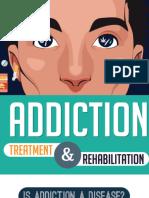 Addiction Treatment and Rehabilitation Infographic