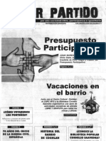 Revista Tomar Partido (Nº 15, 2006)