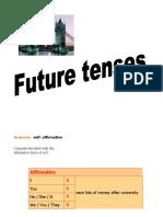 4.- Future Tenses