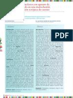 Distalización de molares con aparato de péndulo modificado en una maloclusión Clase II con posición ectópica de canino.pdf