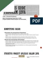 Kode Program Java