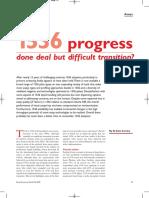 Fall 2009 1536 Progress