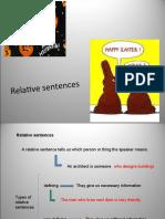 8.- Relative Sentences