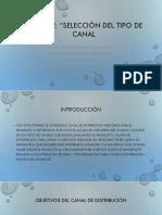 Actividad 4 Informe Seleccion de Canal
