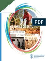 Historias de Éxito de La FAO Sobre Adricultura Climáticamente Inteligente
