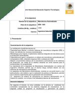 (5)Manufactura Automatizada 2014