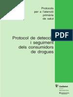 Protocol de detecció i seguiment dels consumidors de drogues