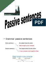 11.- Passive Sentences