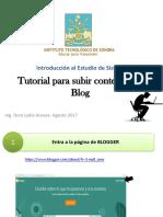 S1-Tutorial Para Subir Contenido Al Blog