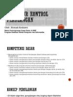07 Struktur Kontrol Perulangan