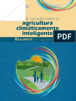 Libro de Consulta Sobre La Agricultura Climáticamente Inteligente Resumen de La Segunda Edición